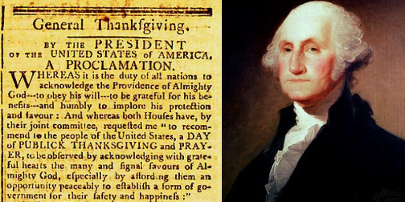Thanksgiving Proclamation of 1789