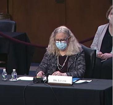 Rand Paul and Rachel Levine: Senate Confirmation Hearing, February 25, 2021